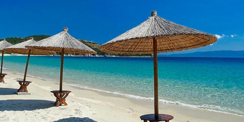 Clear beaches   Halkidiki Greece