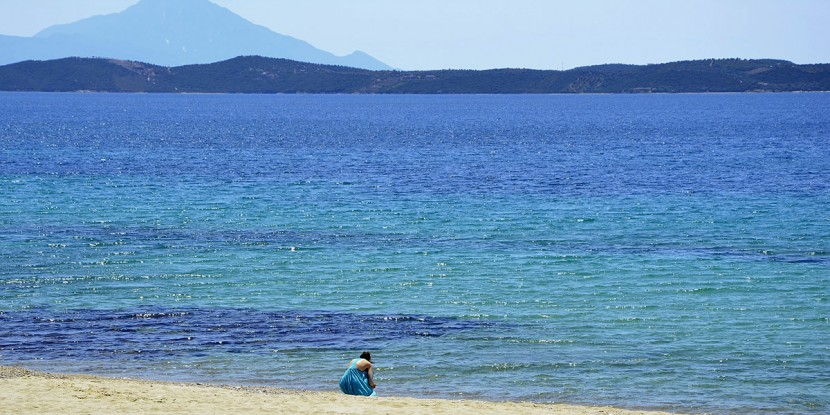 beach, Halkidiki Greece